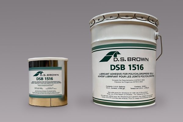 DSB 1516 Lubricant Adhesive Can and Pail - D.S. Brown product